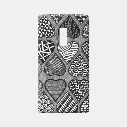 Prints in Hearts One Plus Two Cases | Artist : Aniket Mitra