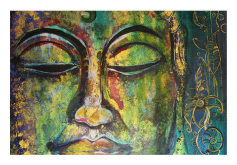 Wall Art, free soul: Buddha Wall Art  | Artist : the scribble stories, - PosterGully