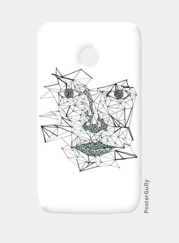 Moto E Cases, 2 AM Mad Triangles Moto E Cases | Artist : Manvi Aggarwal, - PosterGully