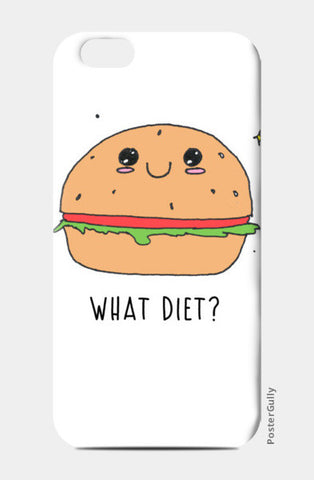 What diet? iPhone 6/6S Cases | Artist : Anjali Nilakantan