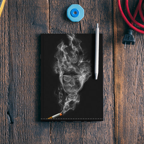 The Cigarette is Smoking You! Notebook | Artist : kapil Verma