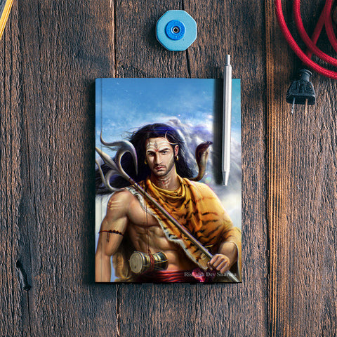 Lord Shiva Rishabh Dev Sharma Notebook | Artist : Rishabh Dev Sharma