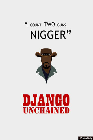 Wall Art, Django Artwork | Artist: Loco Lobo, - PosterGully - 1
