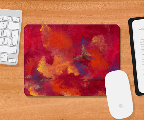 Autumn Clouds Mousepad | Artist : Shubhangni Gupta