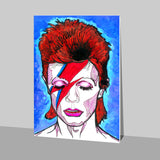 David Bowie - Starman to Stardust Stick Ons | Artist : Pop Goes The Easel