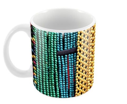 Beads are in fashion. Coffee Mugs | Artist : Trusha Navalkar
