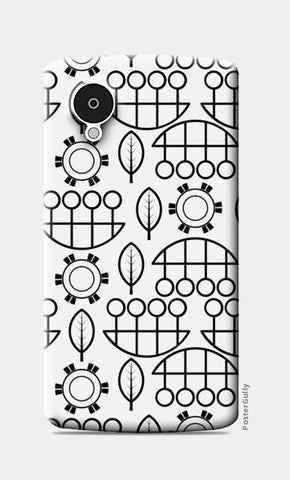 Black and white design vector pattern Nexus 5 Cases | Artist : Designerchennai