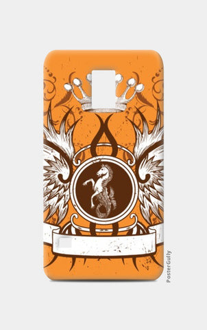 Samsung S5 Cases, horse with wing,Crown and Floral Samsung S5 Cases | Artist : Anshuraj Tyagi, - PosterGully