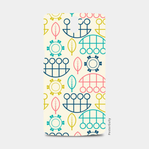 Multicolored art design vector pattern One Plus One Cases | Artist : Designerchennai