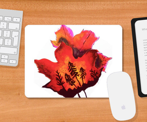 Mousepad, Forest Fire Mousepad | Artist : Awanika Anand, - PosterGully