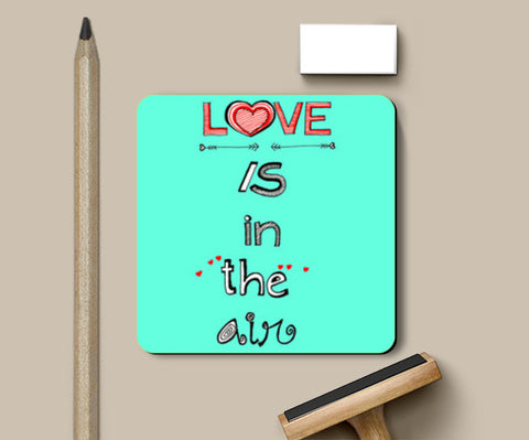 Coasters, Love is in the air Coasters | Artist : Amulya Jayapal, - PosterGully