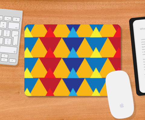 Triangular  Mousepad | Artist : Delusion