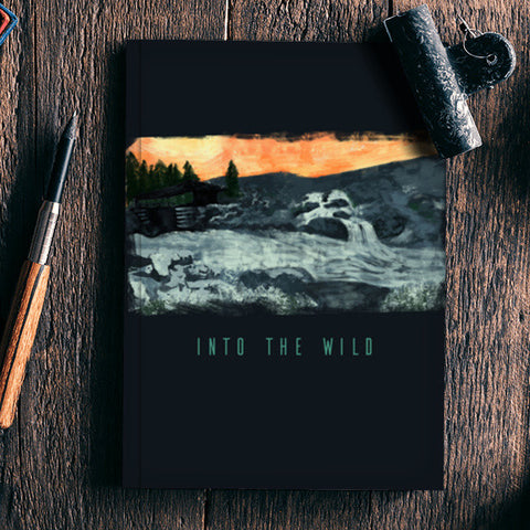 Into the wild  Notebook | Artist : Maeday