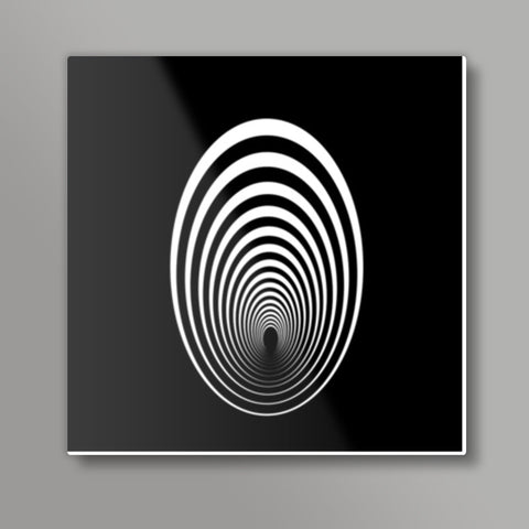 Circle Artwork Metal print Metal Prints | Artist : Vedant Sharma