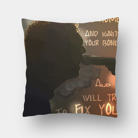 Cushion Covers, Fix You - Coldplay Cushion Cover | Artist: Armaan Sandhu, - PosterGully