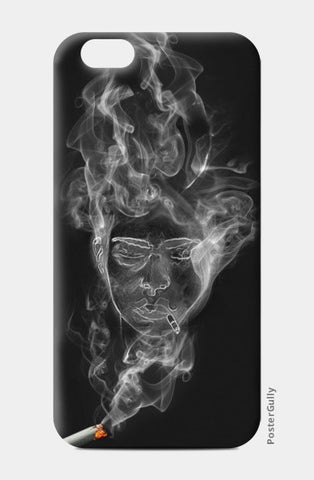 The Cigarette is Smoking You! iPhone 6/6S Cases | Artist : kapil Verma