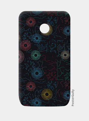 Difficult level mandala circle flower pattern Moto E Cases | Artist : Designerchennai