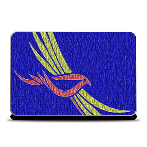 Laptop Skins, Flying Bird Laptop Skins | Artist : CK GANDHI, - PosterGully