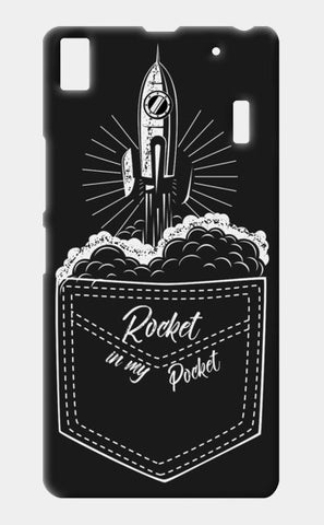 rocket in my pocket Lenovo K3 Note Cases | Artist : Himanshu Sood