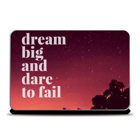 DARE TO FAIL Laptop Skins | Artist : PUJA KUMAR