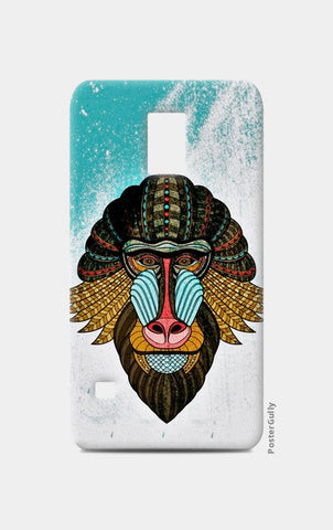 Samsung S5 Cases, baboon case Samsung S5 Cases | Artist : kamal kaur, - PosterGully
