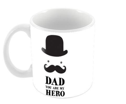 Dad You Are My Hero Happy Father's Day | #Father's Day Special  Coffee Mugs | Artist : Creative DJ