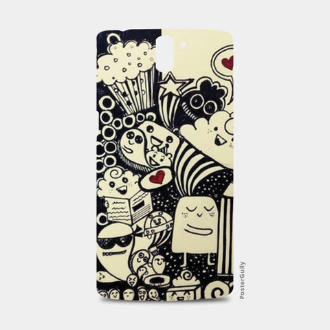 One Plus One Cases, Creatures1 One Plus One Cases | Artist : Surabhi Jha, - PosterGully