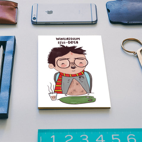 Harry Potter & Dosa Notebook | Artist : Doodleodrama