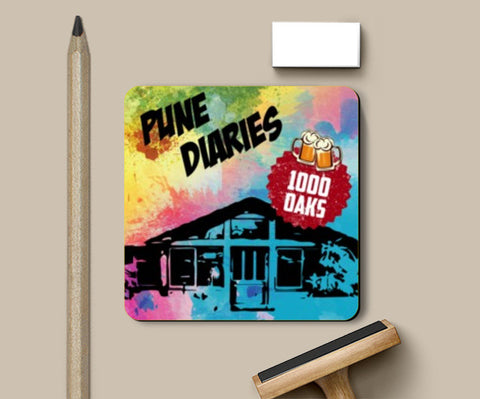 Coasters, Pune Diaries 5 Coasters | Artist : Mosaik, - PosterGully