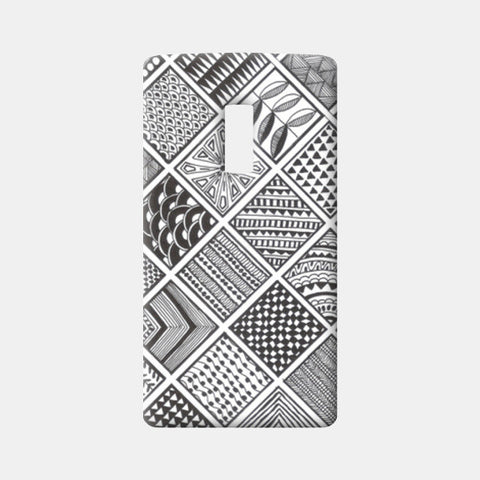 Prints in Squares One Plus Two Cases | Artist : Aniket Mitra