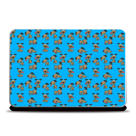 Dog pattern set Laptop Skins | Artist : Creative DJ
