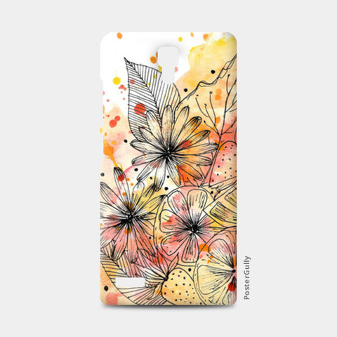 Fruit Punch Redmi Note Cases | Artist : Swathi Kirthyvasan