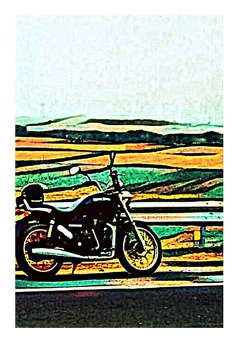Royal Enfield Art Art PosterGully Specials