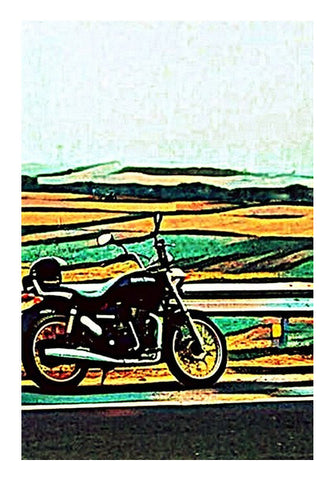 Royal Enfield Art Wall Art | Artist : Rockpire Designs