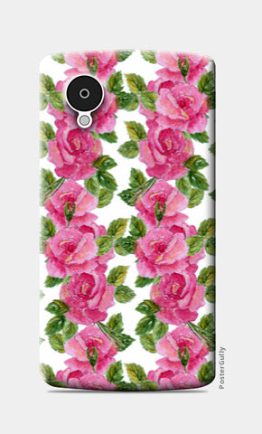 Nexus 5 Cases, Rose Pattern Nexus 5 Case l Artist: Seema Hooda, - PosterGully