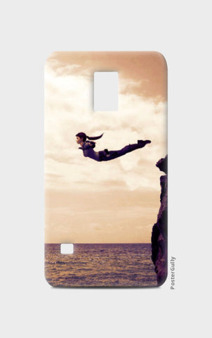 Samsung S5 Cases, Swan DIve Samsung S5 Case | Artist: Rohit Sharma, - PosterGully