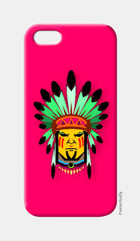 iPhone 5 Cases, Tribal man iPhone 5 case | Artist: Devina Jain, - PosterGully