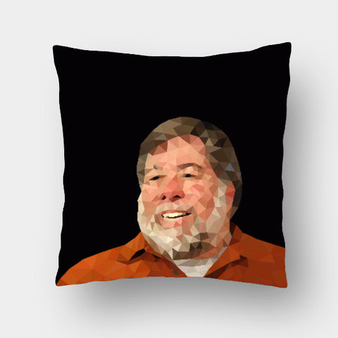 Cushion Covers, Steve Wozniak Cushion Cover | Gagandeep Singh, - PosterGully