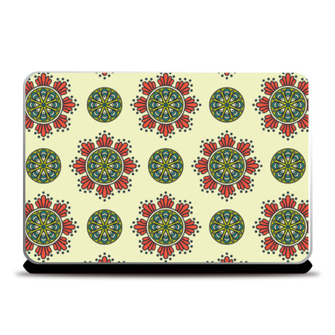 Indo-Asian Abstract Art Laptop Skins | Artist : Creative DJ