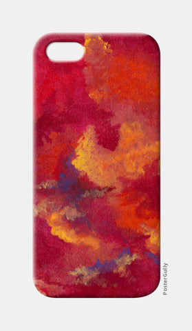 Autumn Clouds iPhone 5 Cases | Artist : Shubhangni Gupta