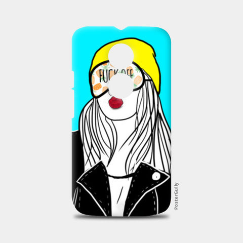 FUCK OFF Moto X2 Cases | Artist : DISHA BHANOT