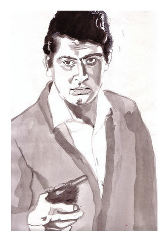 Manoj Kumar Has Been The Best On-screen Patriot Art PosterGully Specials