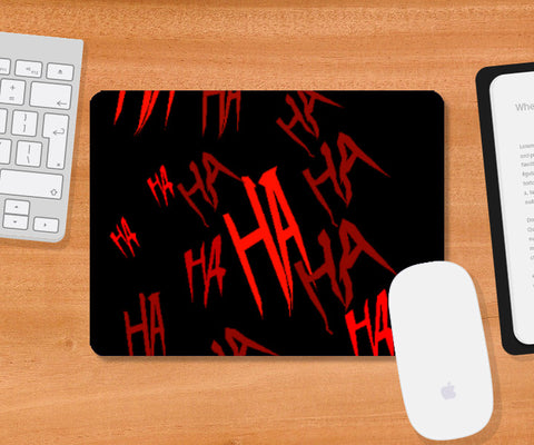 Mousepad, Joker Laughter  Mousepad | Artist : Sidhant Sharma, - PosterGully