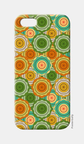 Seamless Floral Beautiful Mandala iPhone 5 Cases | Artist : Designerchennai
