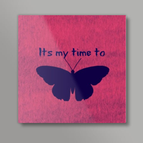 Its my time to butterfly Metal Prints | Artist : Pallavi Rawal