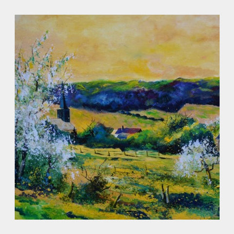 Square Art Prints, spring in matagne Square Art Prints | Artist : pol ledent, - PosterGully