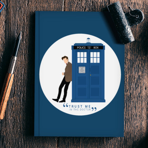 Matt Smith Doctor Who Notebook | Artist : Mohak Gulati