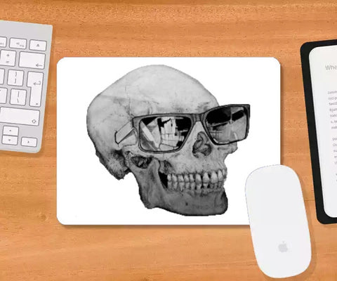 Mousepad, Cool Skull Mousepad | Shashank Sharma, - PosterGully