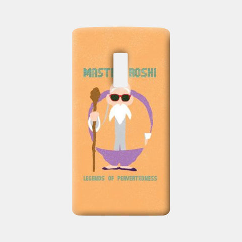 One Plus Two Cases, Master Roshi One Plus Two Cases | Artist : Rishabh Bhargava, - PosterGully
