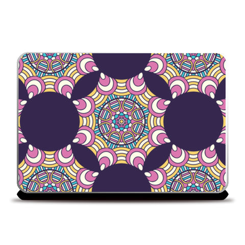 Dark Pattern Art Laptop Skins | Artist : Creative DJ